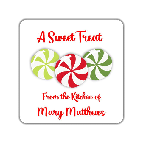 Christmas Candy Gift Stickers OR Tags-Favor Tags & Stickers-Cathy's Creations - www.candywrappershop.com