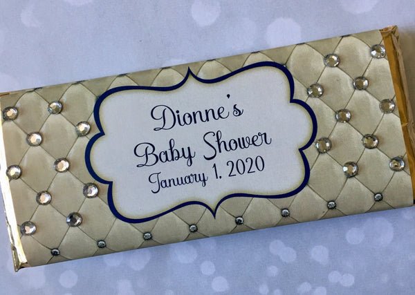 Royal Baby Bling Candy Bar - Cathy's Creations - www.candywrappershop.com