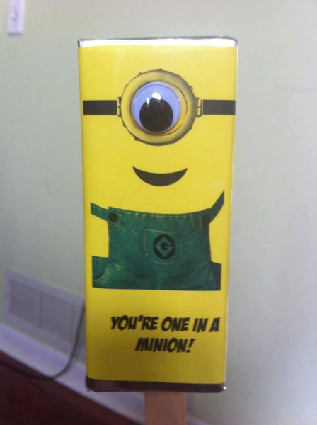 Minion Candy Bar Wrapper - Cathy's Creations - www.candywrappershop.com