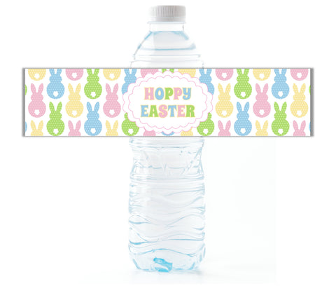 Easter Water Bottle Labels - Cathy's Creations - www.candywrappershop.com