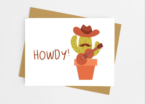 Cactus Note Cards - Cathy's Creations - www.candywrappershop.com