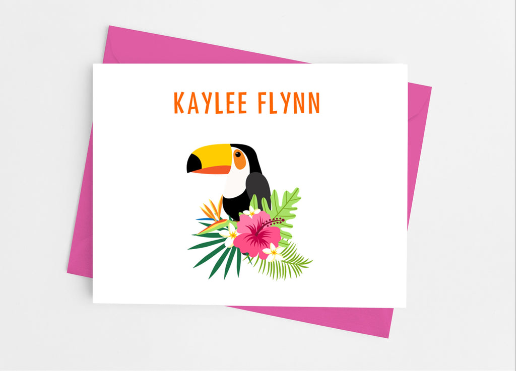 Toucan Note Cards - Cathy's Creations - www.candywrappershop.com