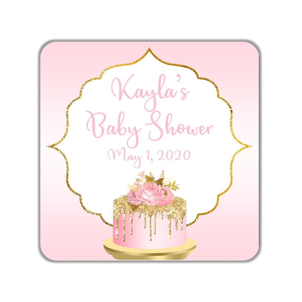 Birthday Cake Favor Stickers OR Tags - Cathy's Creations - www.candywrappershop.com