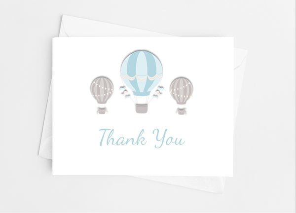 Hot Air Balloon Note Cards - Cathy's Creations - www.candywrappershop.com