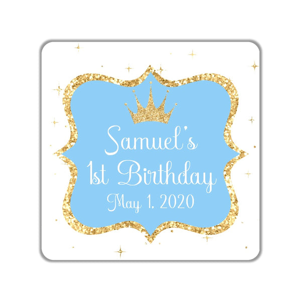 Royal Baby Favor Stickers OR Tags - Cathy's Creations - www.candywrappershop.com