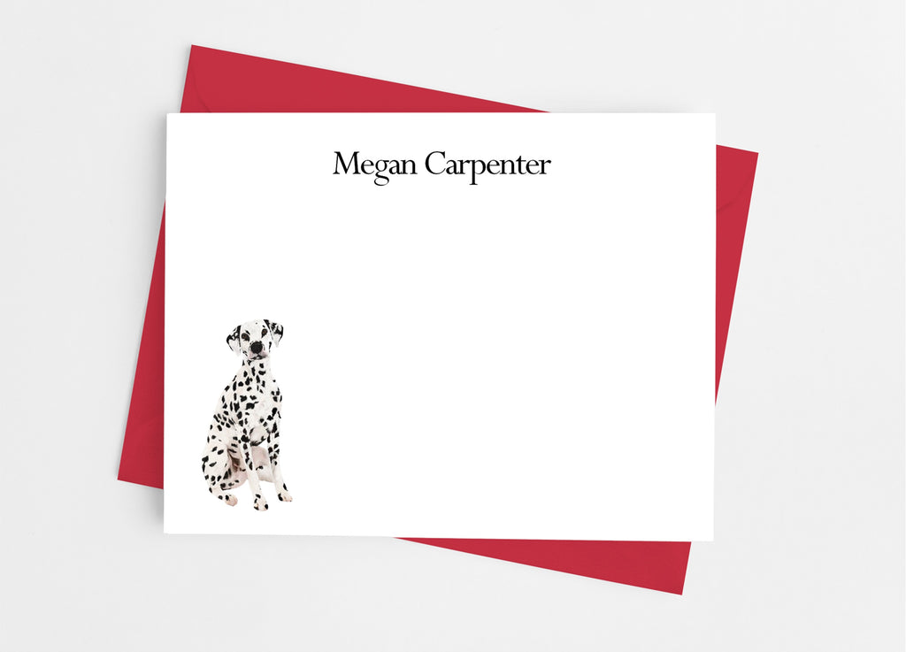 Dalmatian Flat Note Cards - Cathy's Creations - www.candywrappershop.com