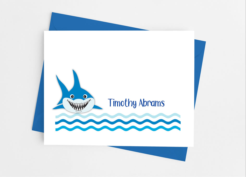 Shark Note Cards - Cathy's Creations - www.candywrappershop.com