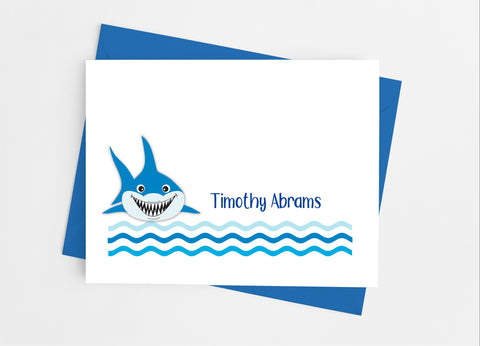 Shark Note Cards-Note Cards-Cathy's Creations - www.candywrappershop.com