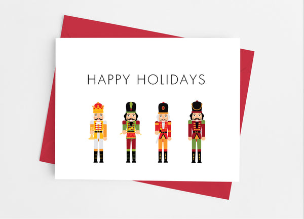 Nutcracker Note Cards - Cathy's Creations - www.candywrappershop.com