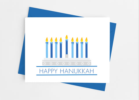 Hanukkah Note Cards - Cathy's Creations - www.candywrappershop.com