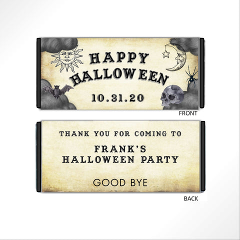 Ouija Board Candy Bar Wrapper - Cathy's Creations - www.candywrappershop.com