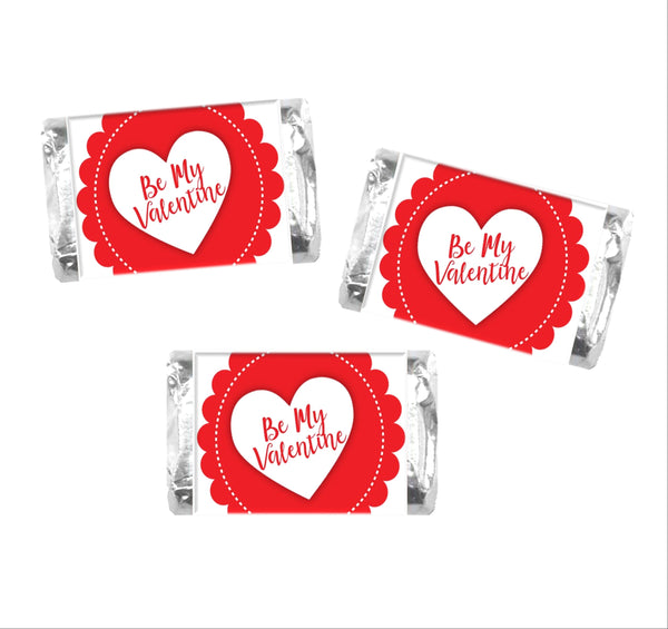 Valentine's Day Mini Candy Wrappers - Cathy's Creations - www.candywrappershop.com