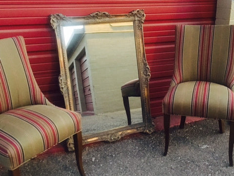 Large Beautiful Ornate Framed Mirror