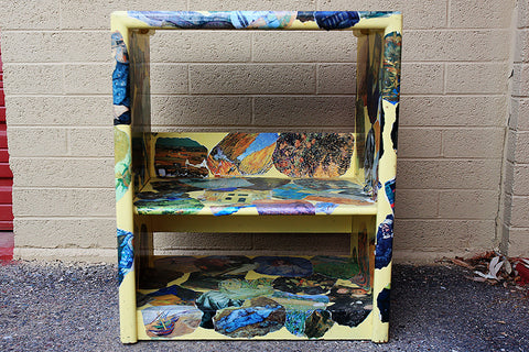 Van Gogh Decorated Shelf
