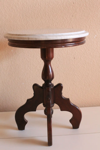 Side Table with Catco Italian Marble Top