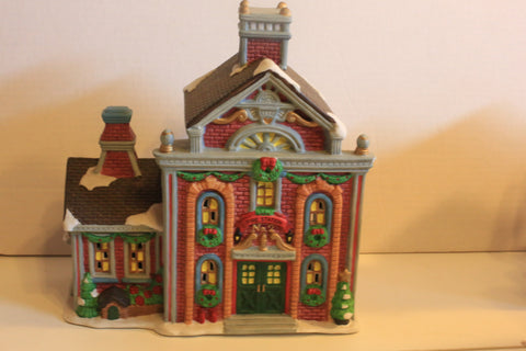 Christmas Village - Fire Station No. 2 - Long Rich LTD 1998