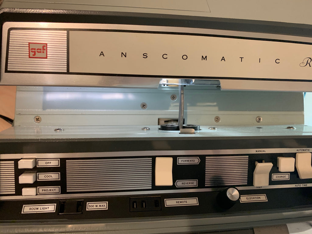 Anscomatic Vintage Slide Projector JN-338 in Working Condition