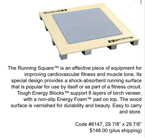 Gerstung Running Square/Exercise Aerobic Board