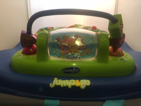 Evenflo Jump & Go Doorway Jumper with Lights and Sounds