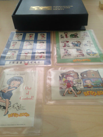 Betty Boop Collector Stamps International Collectors Society