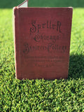 Antique Speller Chicago Business College Book 1902