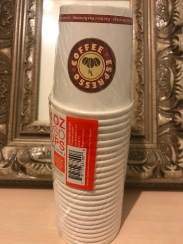 New 10 Packages of 4oz Espresso Disposable Cups