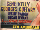 An American in Paris Vintage Movie Poster in French