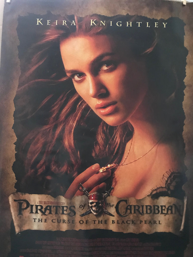 Keira Knightley Pirates of the Caribbean 2003 Movie Poster