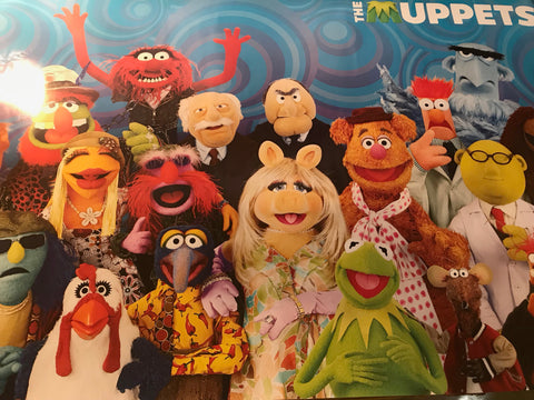 The Muppets Movie Cast Poster