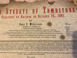 RARE First Edition 1998  Streets of Tombstone Poster by Gary McLelland