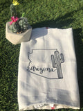 NEW - Arizona with cactus Kitchen Dish Towel