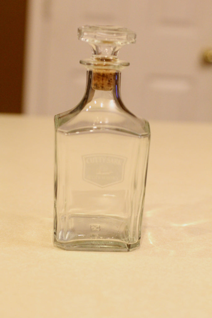 Cutty Sark Scots Whiskey Decanter