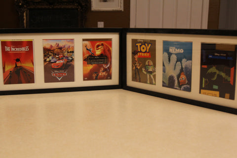 Framed Disney Animated Movie Classic Prints