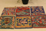 Rare Early 1900's Tobacco Felts / Flannel Miniature Rugs / Banners