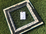 Upcycled Frame with Chicken Wire