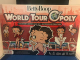 New Sealed in Box Betty Boop World Tour Opoly Board Game