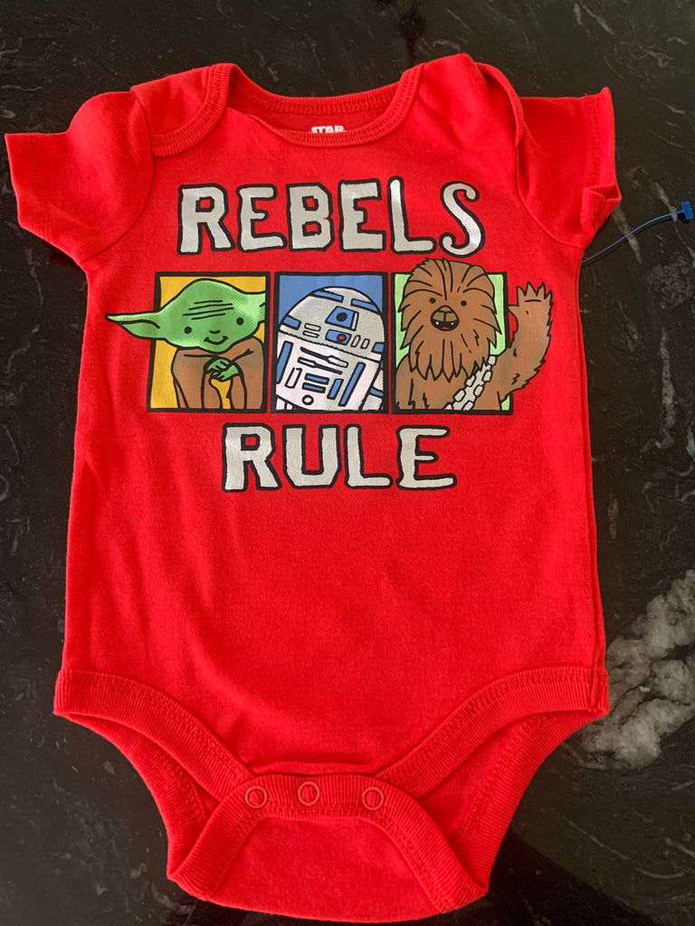New Star Wars Rebels Onesie 12months