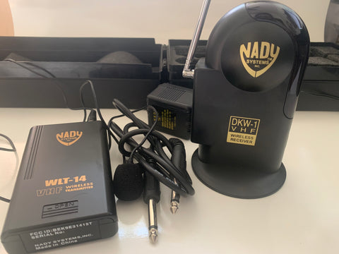 Nady Wireless Microphone Transmitter and Receiver