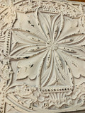 "New 25 Milan Ceiling Tiles 24""x24"" Old Black White"