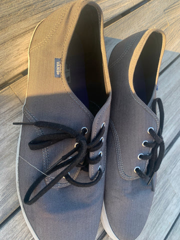 Men's Vans Sz 13 Gray with White bottoms