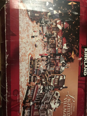 Kirkland's Signature 37 Piece Lighted Village