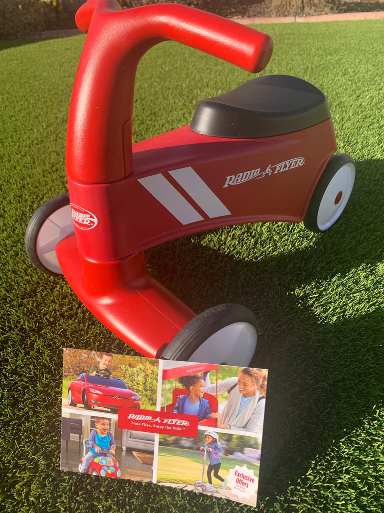 New Assembled - Never Used, Radio Flyer Scoot About Sport