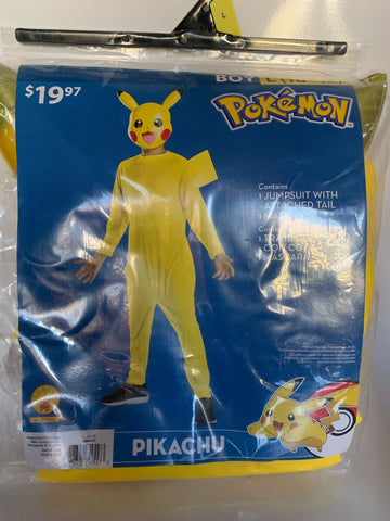 New Kids Pokémon Pikachu Costume Sz10-12