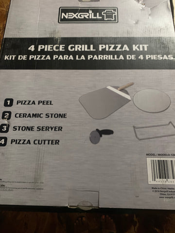 Nexgrill 4 Piece Grill Pizza Kit