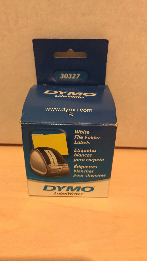 Dymo LabelWriter 30327 White File Folder Labels