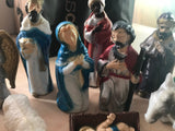 16 pc Vintage Nativity Figurines