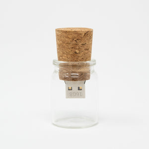 Message In a Bottle USB Flash Drive 3.0