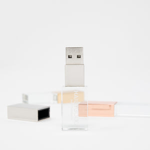 Crystal Glass USB Flash Drive 3.0