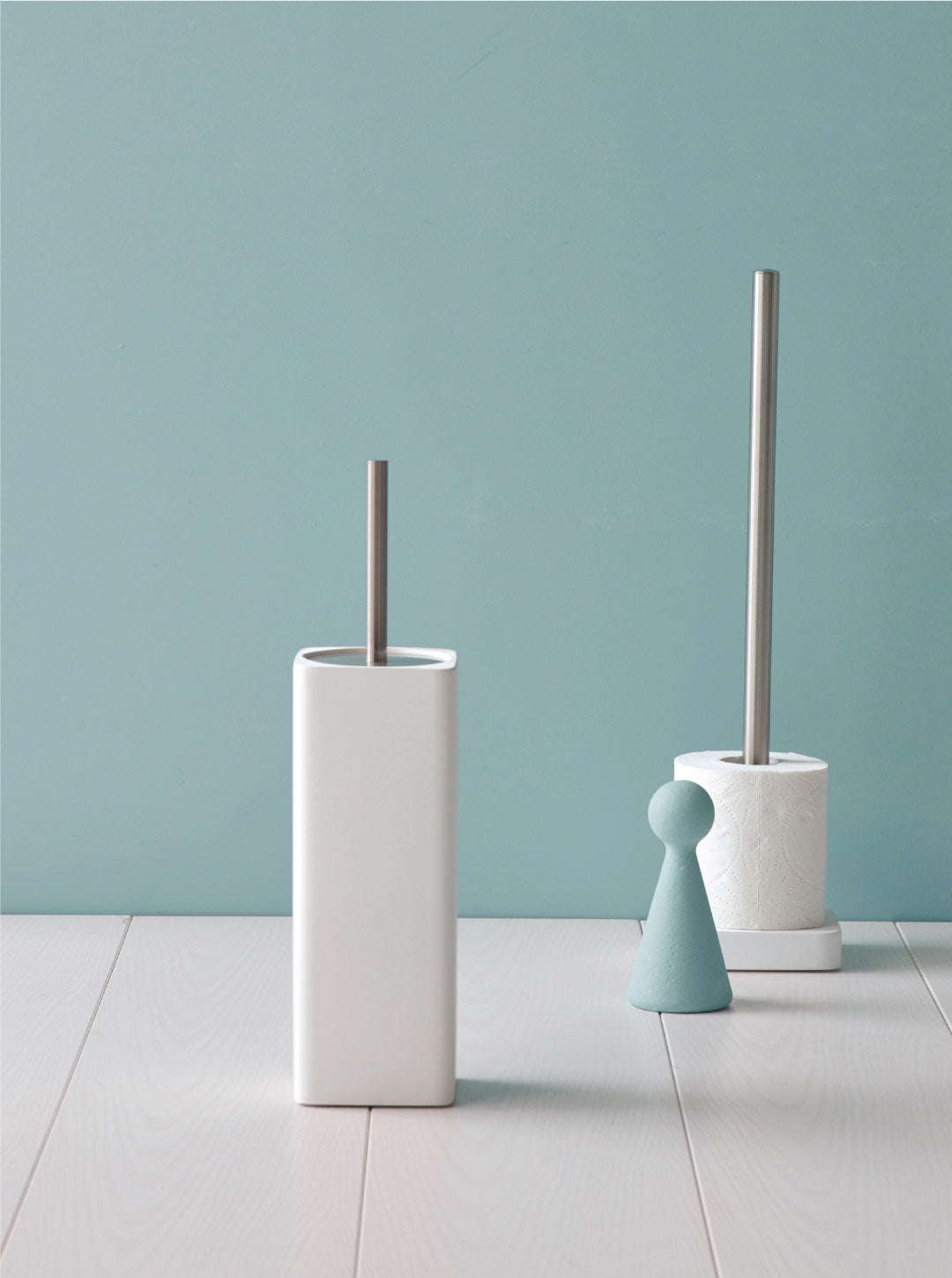 Toilet brush holders
