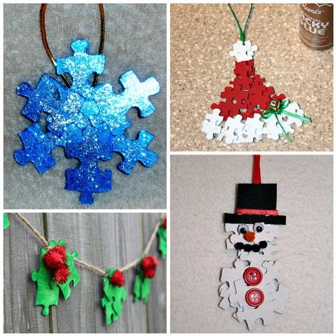 Christmas Puzzle Ornaments | AGM Home Store